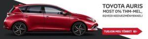 Toyota Hering, Toyota Auris hybrid szalonautó akció